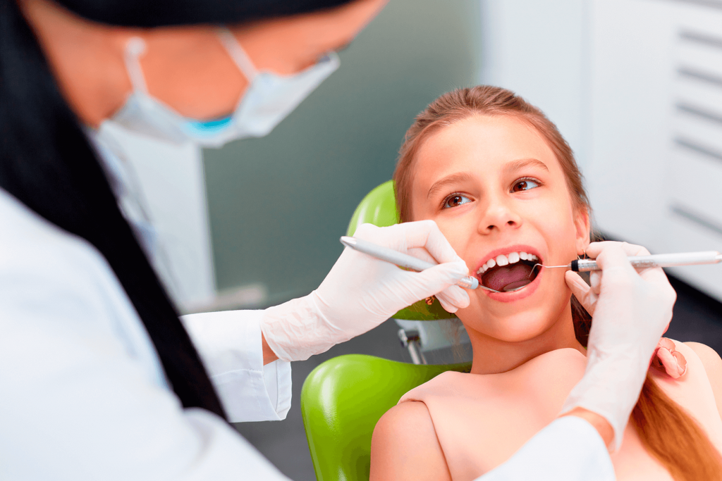 Atendimento odontologico infantil